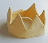 Crown made from vintage fabric (8 colours)Plumette- Cachette
