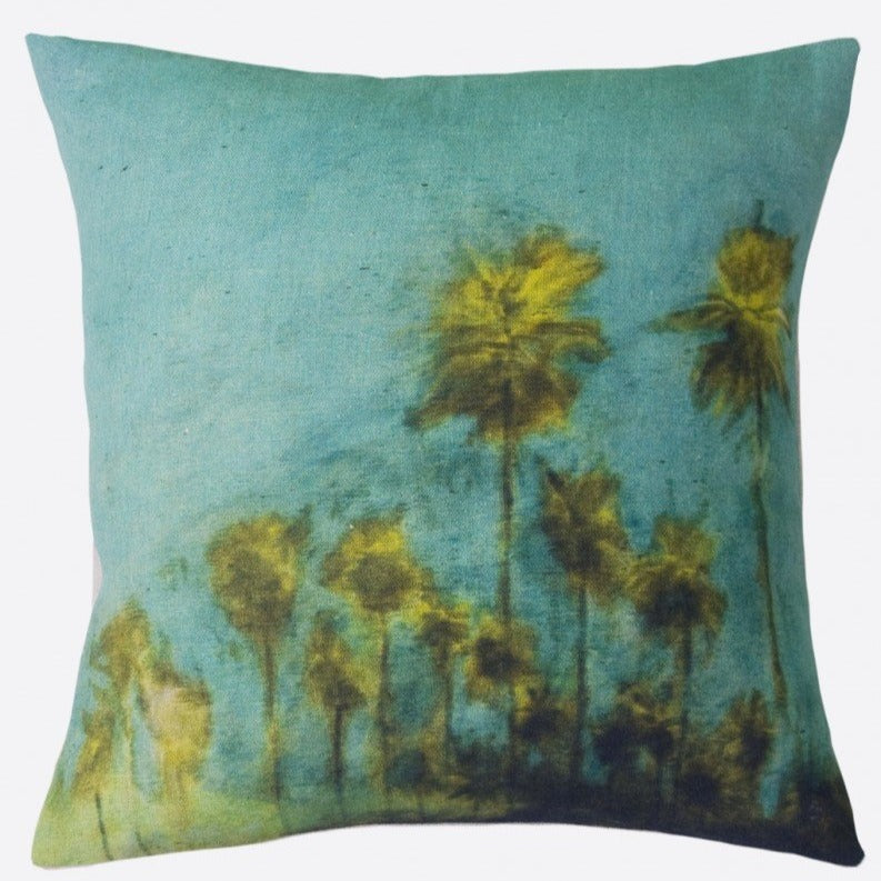 """El Palmar"" linen cushion cover square (2 sizes - inner available too)"
