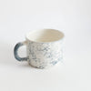 "handmade ""bubble"" cup in glazed terracottaDatcha- Cachette"