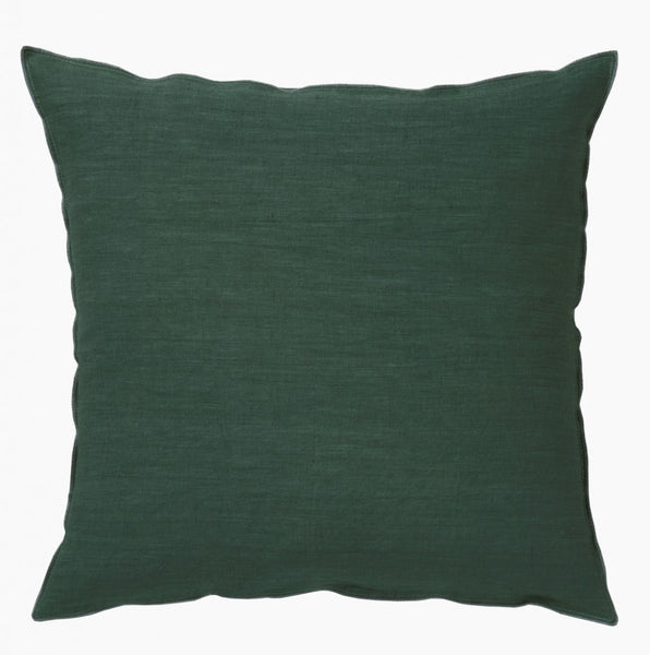Blue-grey cushion cover in pure linen  (various sizes, inner available too)Maison Lévy- Cachette