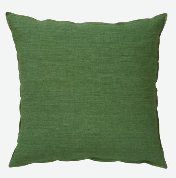 Lichen cushion cover in pure linen  (various sizes, inner available too)
