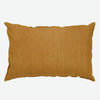 Ochre cushion cover in pure linen  (various sizes, inner available too)Maison Lévy- Cachette