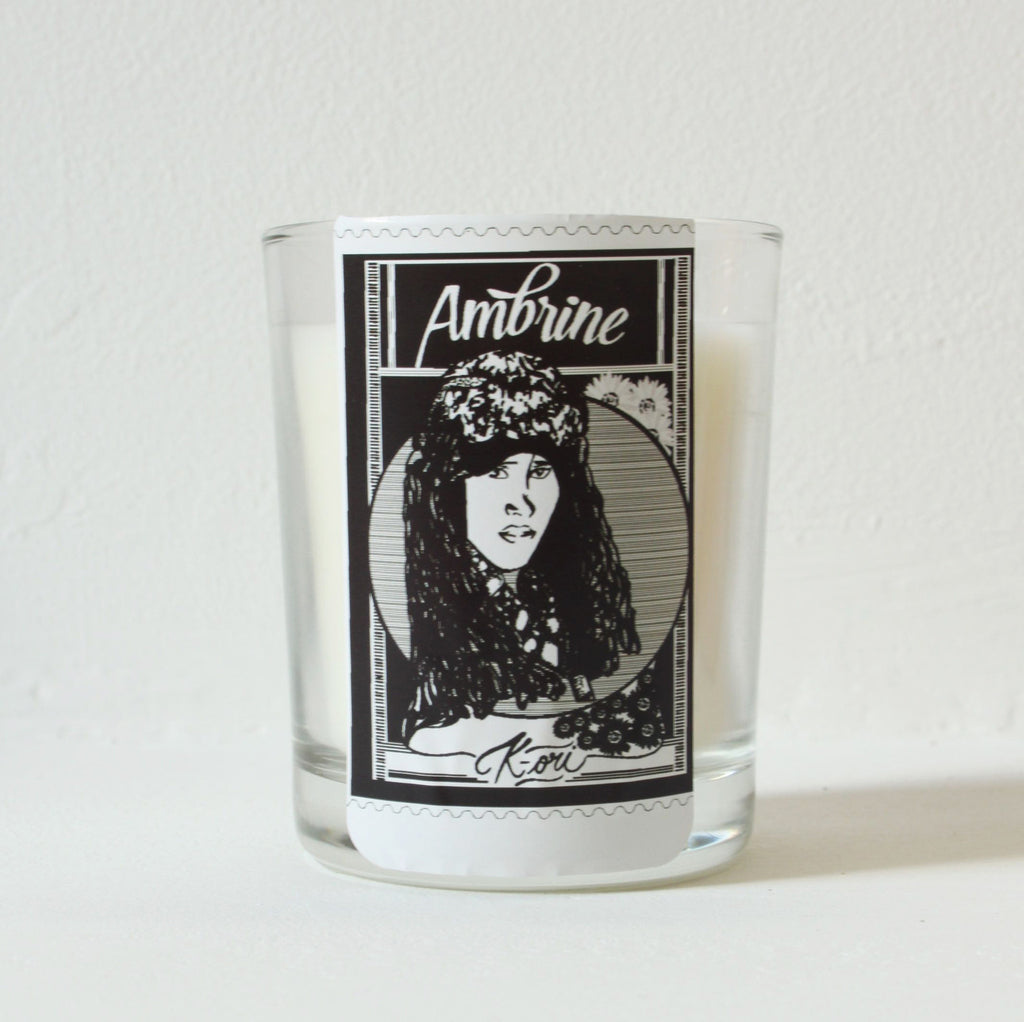 Scented candle Ambrine (35 hours) warm with spices and amber