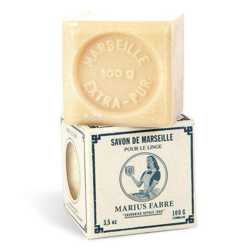 marseille soap for laundry (100g or 400g)Marius Fabre- Cachette