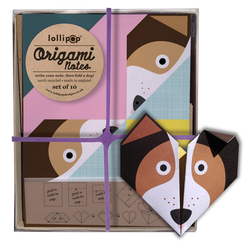 Set Of 10 Origami Notelets And Envelopes Various Animals Available