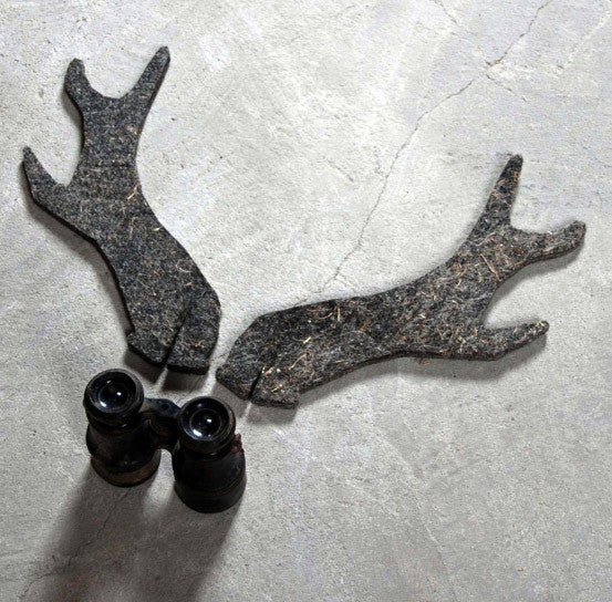 pair of reindeer antlers in feltUn esprit en plus- Cachette