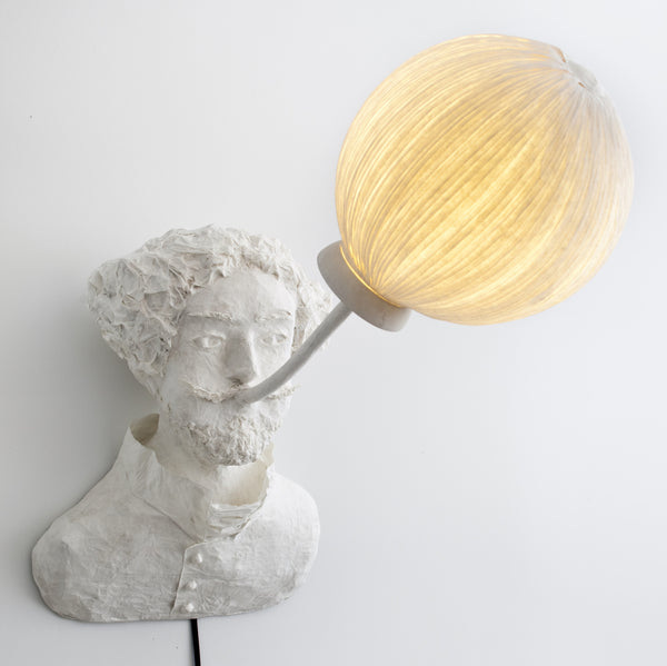 "Sculptural light ""Gustave"" (request pricing)papier a etre- Cachette"