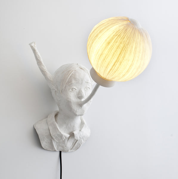 "Sculptural light ""Amandine"" (request pricing)papier a etre- Cachette"