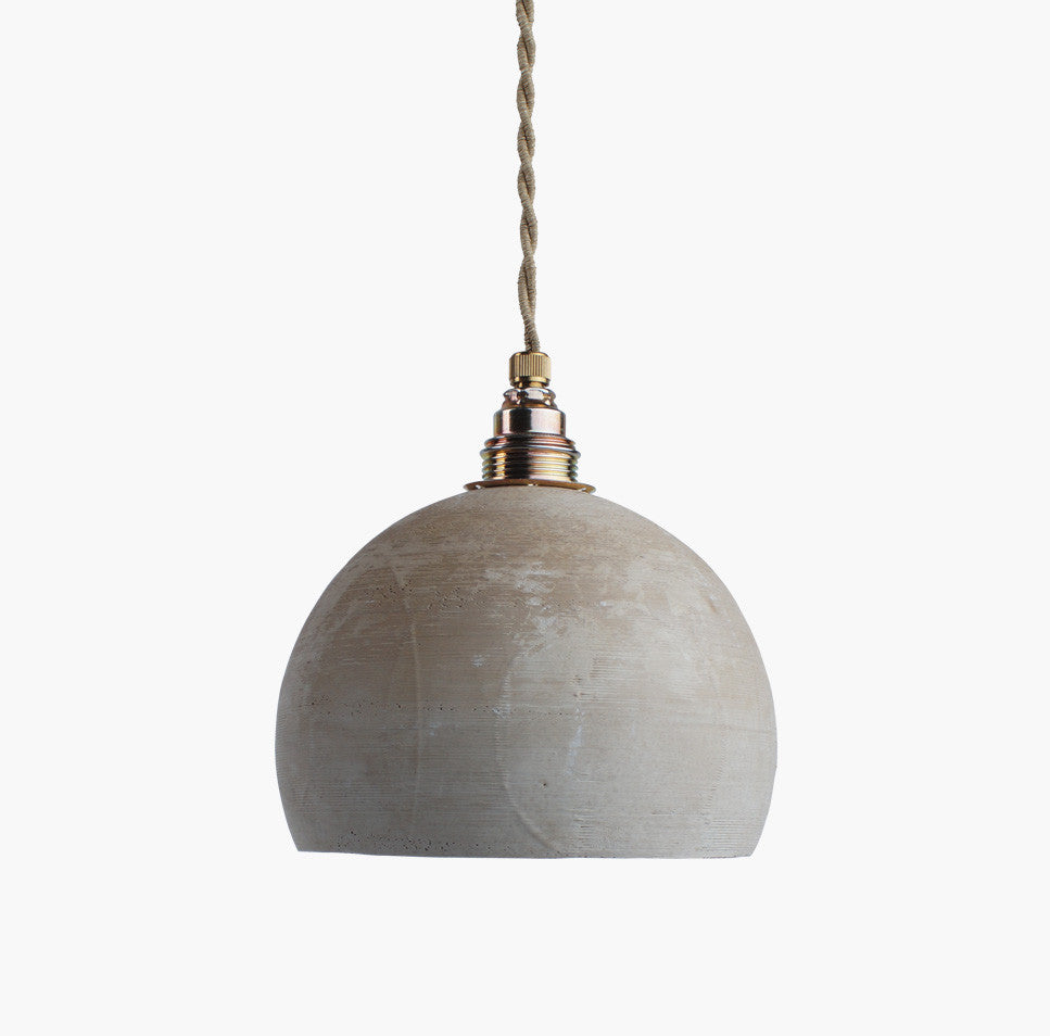 Pendant light made of coffee groundsRescued- Cachette