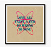 Trust art print (various sizes)