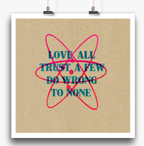 Trust art print (various sizes)Balibart- Cachette
