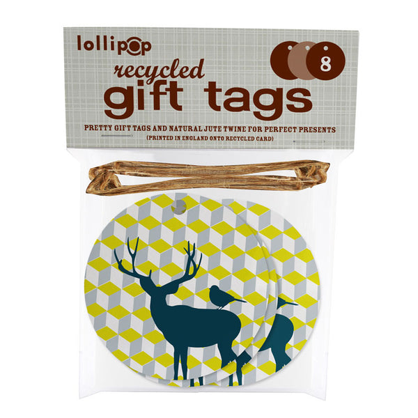 stag gift tagsLollipop Designs- Cachette