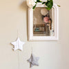 Star night light made from vintage fabric (8 colours)Plumette- Cachette