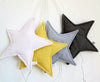 Star night light made from vintage fabric (8 colours)