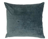 Velvet cushion in blue storm (three sizes available)