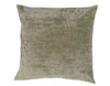 Velvet cushion in silver (three sizes available)bed and philosophy- Cachette