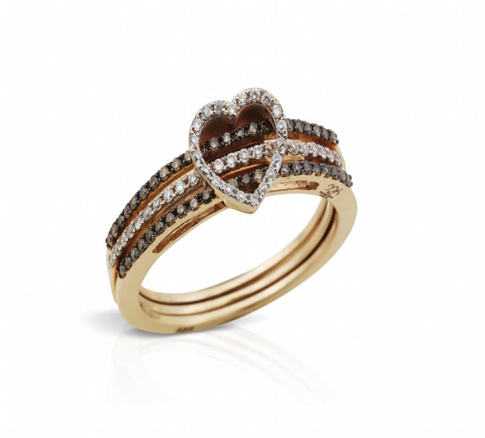 Moving Heart Ring