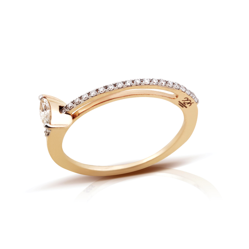 Moving Marquise Ring