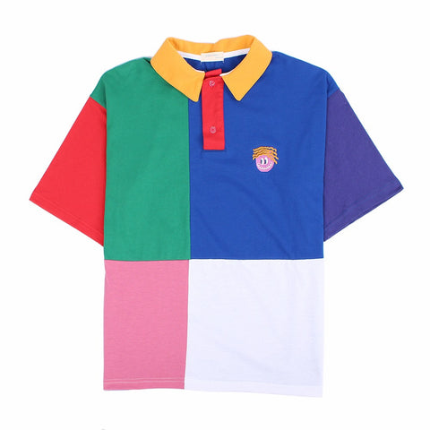 Patchwork Polo