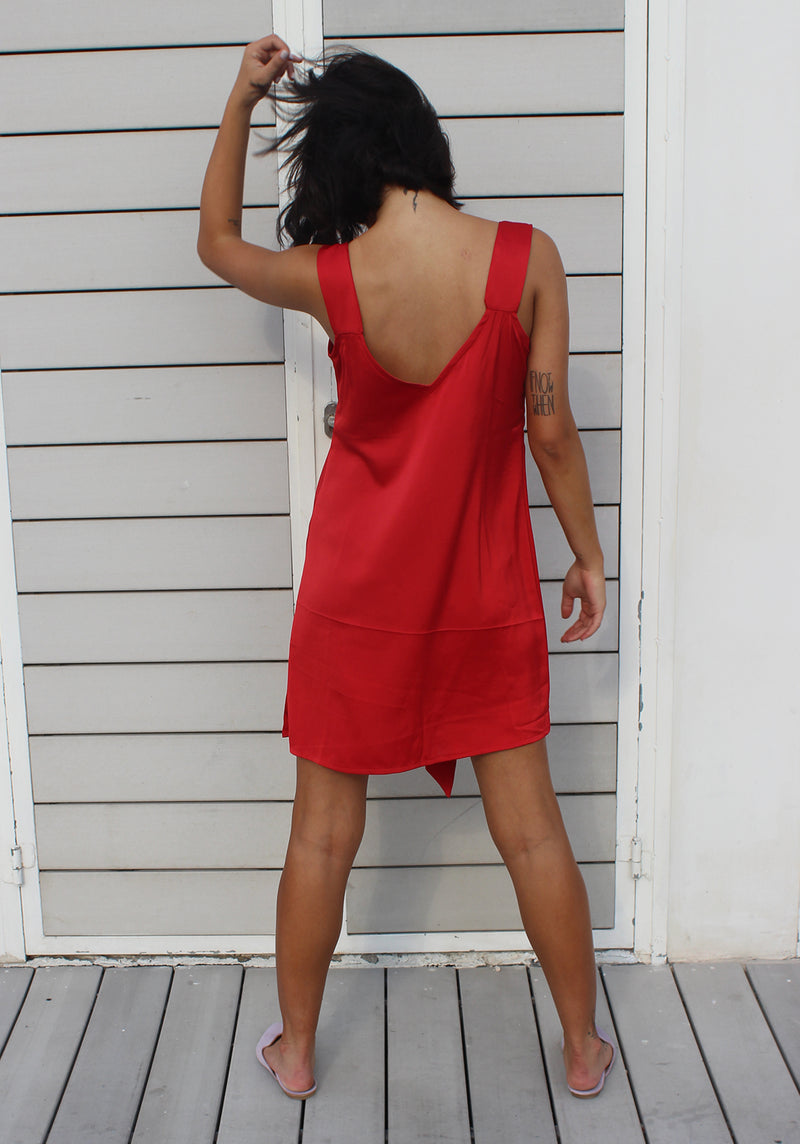 Red Nicki dress - שמלת ניקי אדום