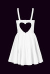 Heart cut out bridal dress - שמלת לב כלה / כלות
