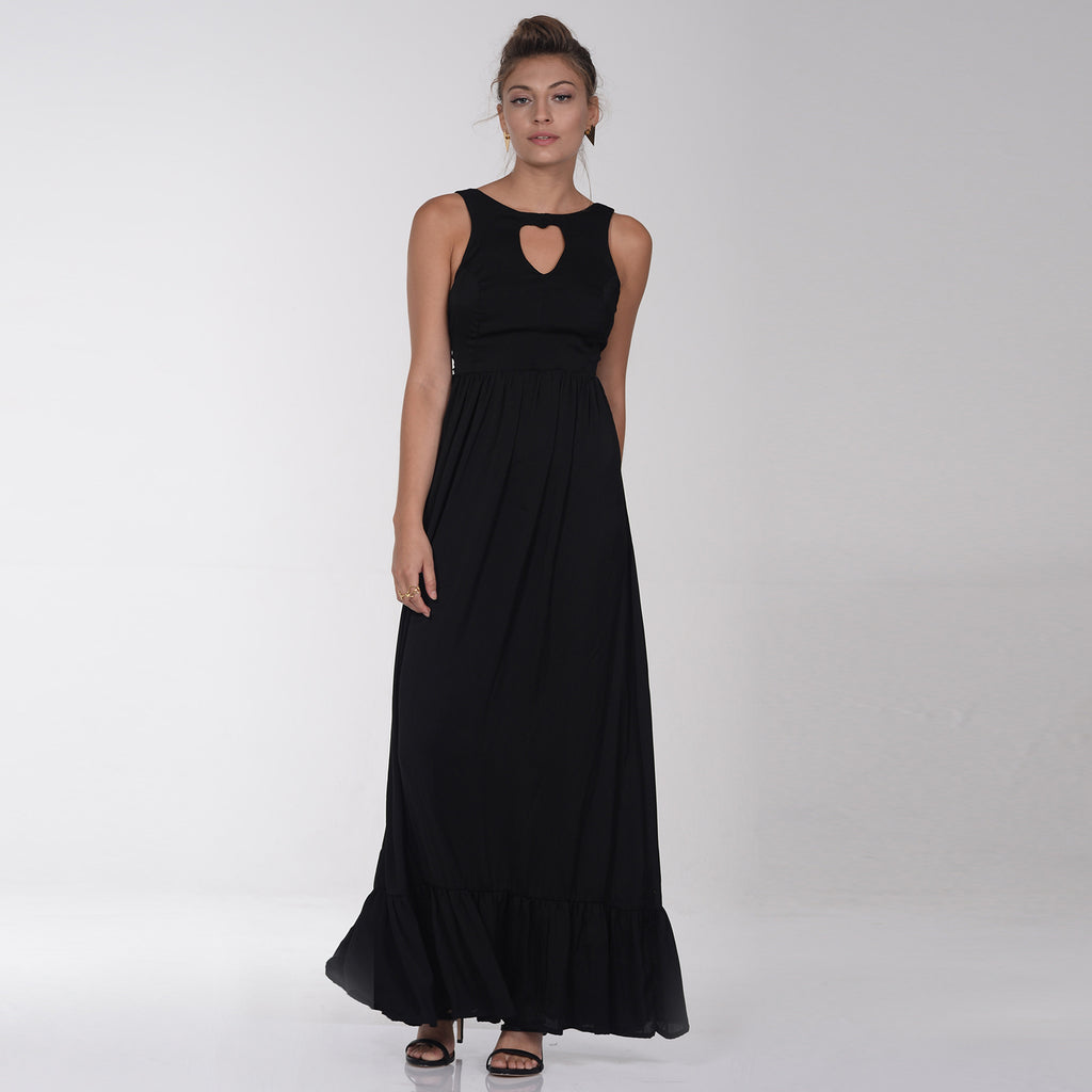 Black chandelier dress - שמלת שנדליר שחור, שמלת ערב, חצאית מקסי