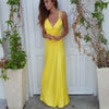 Yellow Sunset dress - שמלת סאנסט, צהוב