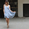 Light blue Fluff dress - שמלת פלאף תכלת