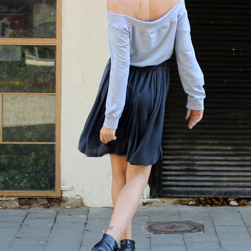 Steel Katie skirt  - חצאית קייטי פלדה