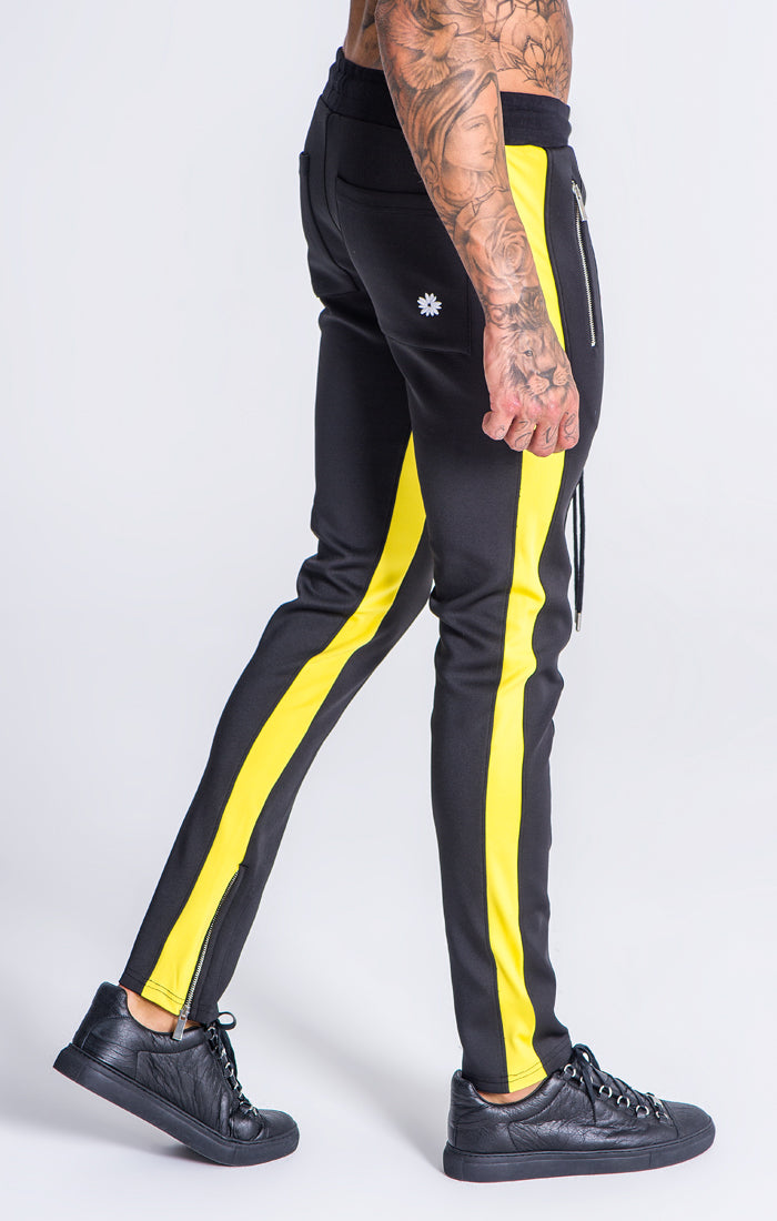 black-yellow
