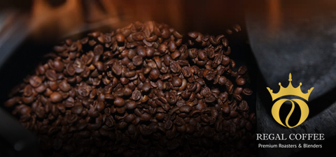 image of flame roasted coffee
