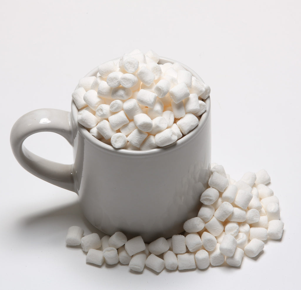 White Mini Mallows - 1kg