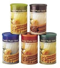Bolero Wafer Tins - Almond 400 g