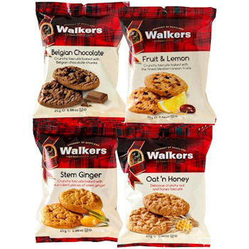 Walkers Mini Pack Assorted Biscuits