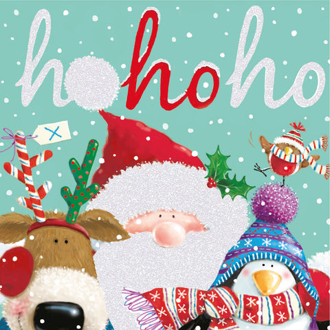 """Santa & Friends"" LOROS Christmas Card"