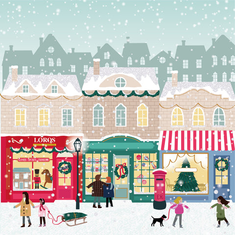 """Christmas Loros Shop"" LOROS Christmas Card"
