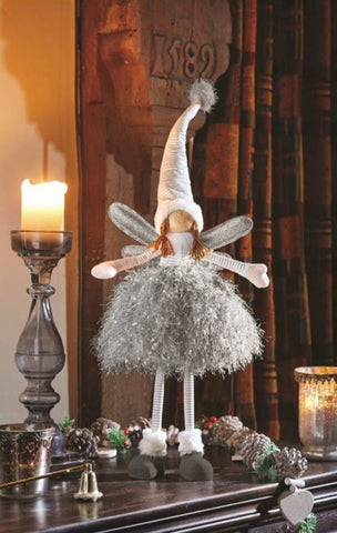 Ophelia Grey Fairy Princess Christmas Ornament Decoration Models Available Xmas Decor