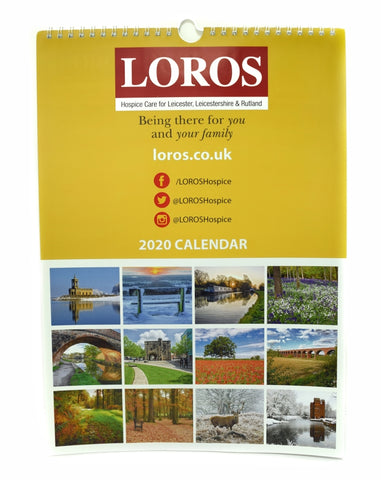 2020 LOROS Calendar - Images of Leicestershire and Rutland