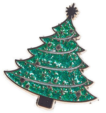 Green Tree Light up a Life Pin Badge