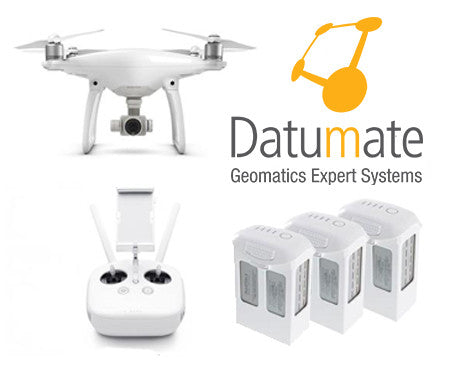 Datumate - DatuFly and DatuSurvey Ent with Phantom 4 Pro Bundle - GoUAV