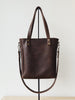 Janette Shopper Bag Dark Brown