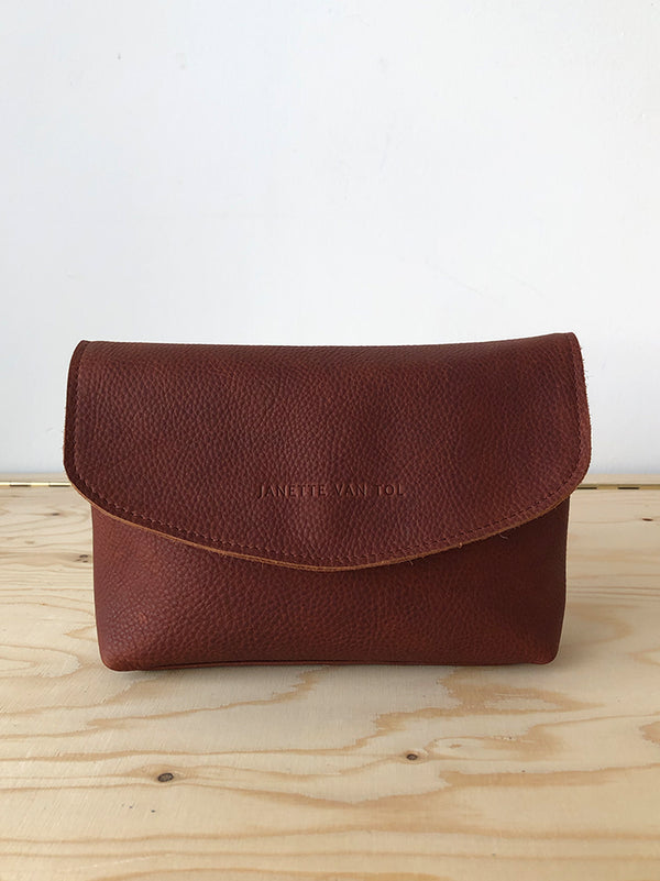 Maxime Cosmetic Pouch Cherry pink