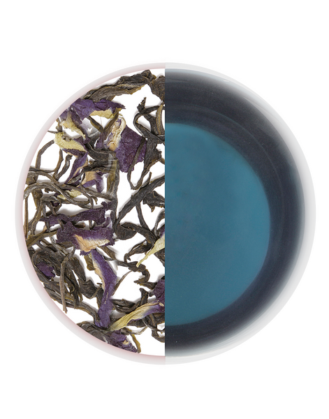 Blue tea butterfly blue pea purple tea green tea organic tea detox tea skincare tea weightless tea assam tea buy tea online loose-leaf tea pyramid teabag tea handmade tea