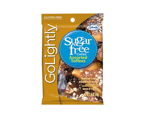 Go Lightly Sugar Free Chewy Candies Assorted Toffees 445