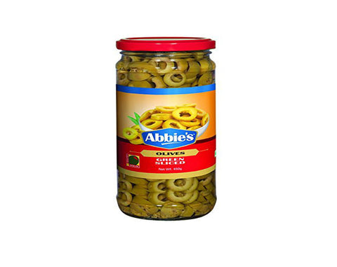 ABBIE'S Green Whole Olive