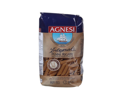 AGNESI Whole Wheat Penne Pasta