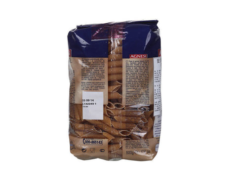 AGNESI Whole Wheat Penne Pasta - The Diabetic shop