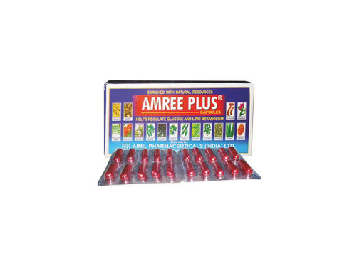 AMREE PLUS CAPSULES - The Diabetic shop