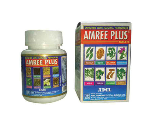 AMREE PLUS TABLETS - The Diabetic shop