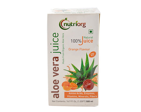 Aloevera and Orange Juice 500 Ml - The Diabetic shop
